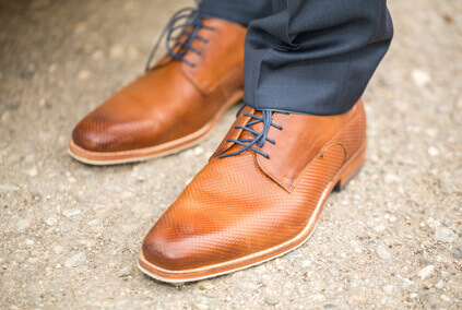 Chaussures homme brunes
