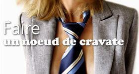 apprendre a faire un noeud de cravate