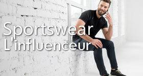 Sportswear influenceur