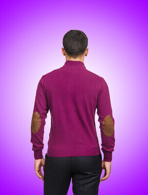 Male sweater isolated on the white - Pull-over masculin sur le blanc