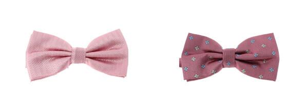 Noeud Papillon CLJ, Toulouse, ROSE et motif a fleurs