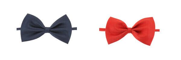 Noeud papillon enfant, Marine ou rouge