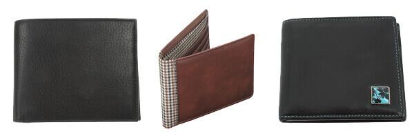 Portefeuille cuir, Simon Carter, Soft Leather coin wallet Black et tyler et jacob et jones