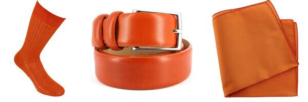 Accessoires Orange