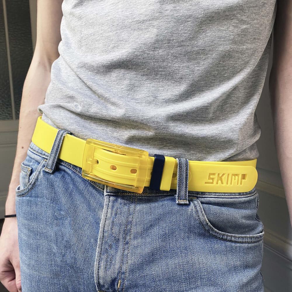 ceintures jaunes