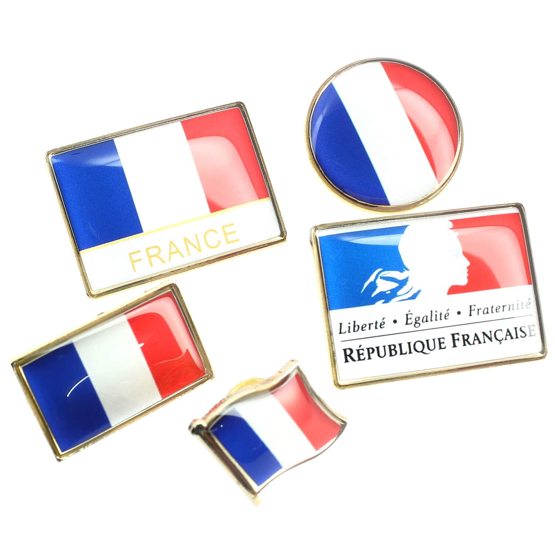 Pins patriotes France