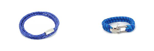 bracelet-tresse-homme-monart-bleu et tressé zig-zag tyler