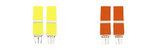 bretelle-4-clips-jaune-canari et orange