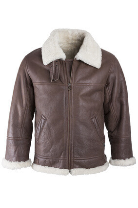 manteau marron doublé