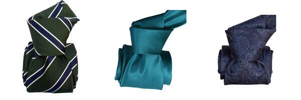 cravate-classique-segni-et-disegni-savone-vert-kaki-cravateturquoise et bleu luxe