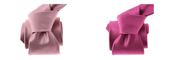 cravate-clj-lyon-rose-bolero et rose