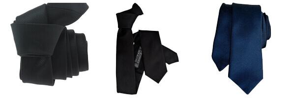 cravate-segni-disegni-classic-slim-bleu et noir