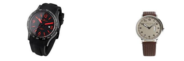 montre-kennett-altitude-noir-et-rouge et montre simon carter