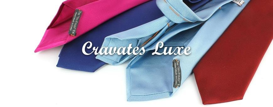 Cravates luxe en pure soie