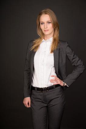 attraktive Geschäftsfrau attraktive Geschäftsfrau