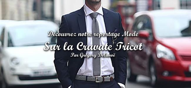 Article sur la Cravate Tricot