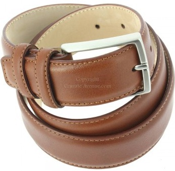 ceinture vitello cuir marron robert charles