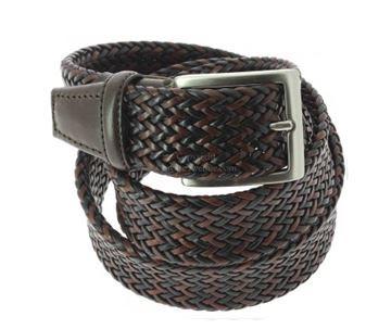une ceinture tressée