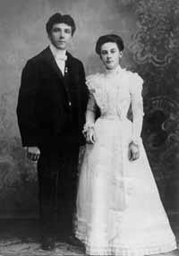 Mariage 1900