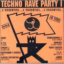 techno rave party orange