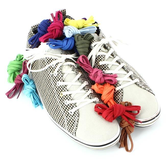 lacets pour sneakers ou bensimon