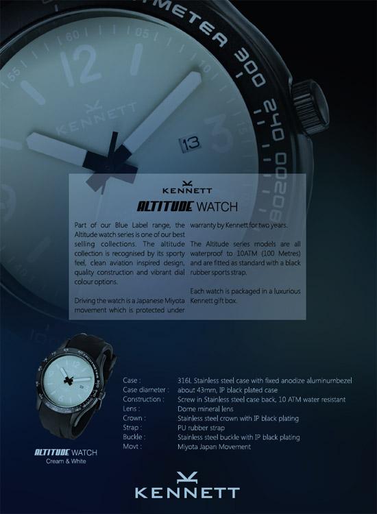 montres kennett altitude