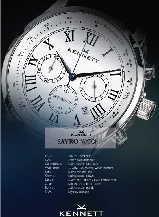 savro montres kennett
