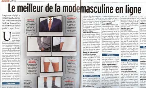 article de presse management