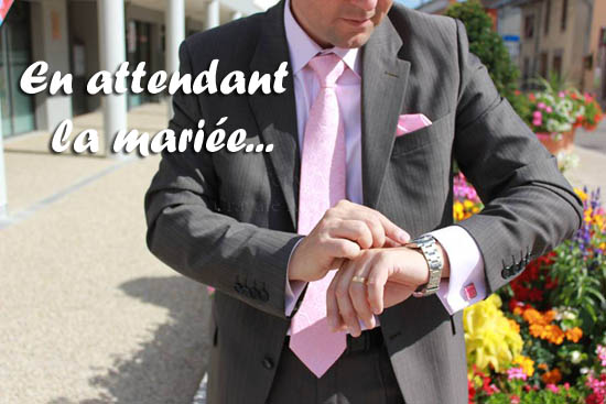 reportage mode en attendant la mariée