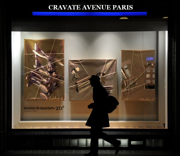 boutique cravate avenue paris france